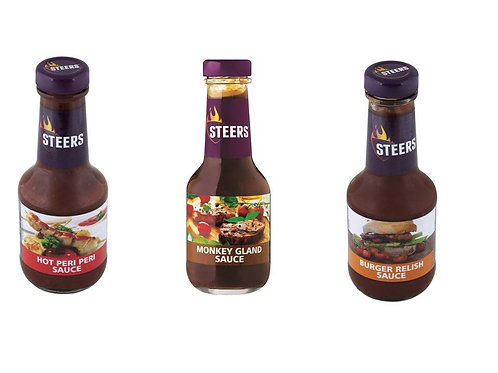 Steers Sauces 375ml