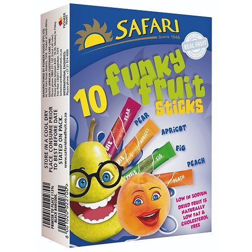 Safari Funky Fruit Sticks 250g