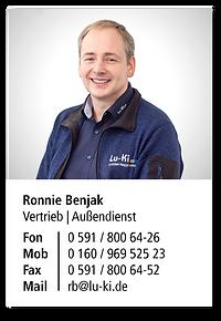 Benjak, Ronnie_Kontaktkarte.png