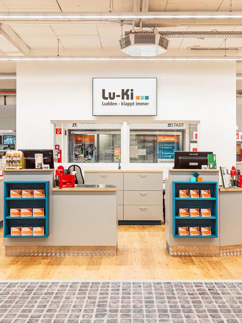 Lu-Ki's Kassenbereich.