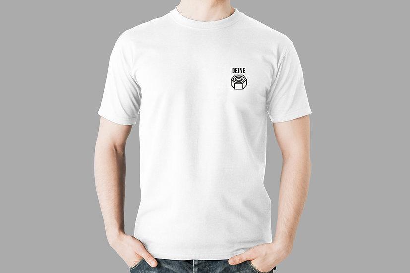 """T-Shirt """"Deine Mutter"""", weiß"""