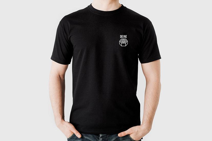 """T-Shirt """"Deine Mutter"""", schwarz"""