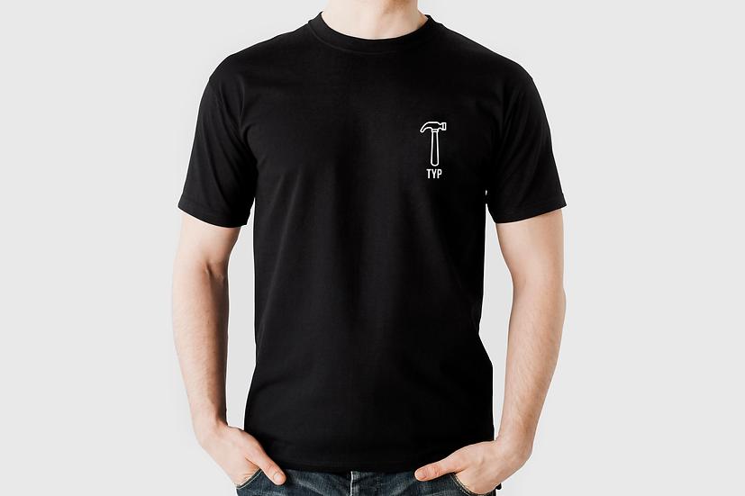 """T-Shirt """"Hammer Typ"""", schwarz"""