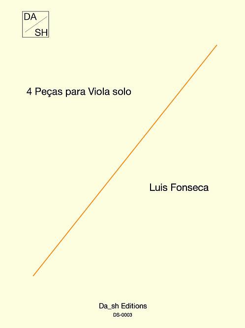 Luis Fonseca - 4 peças para Viola solo