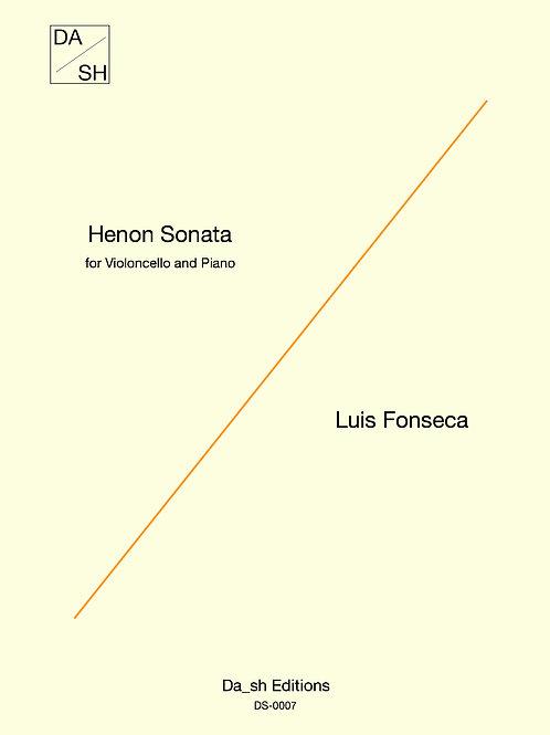 Luis Fonseca - Henon Sonata for Violoncello and Piano