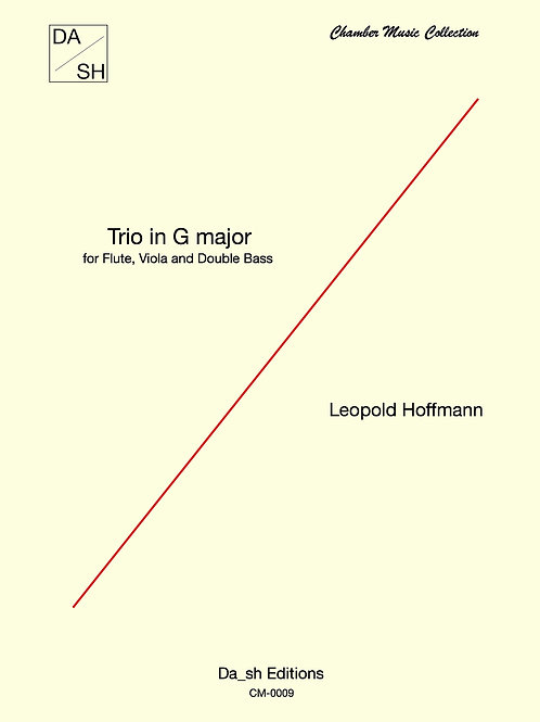 Leopold Hoffmann - Trio in G major for flute, viola and Double Bass