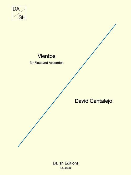 David Cantalejo - Vientos for Flute and Accordion