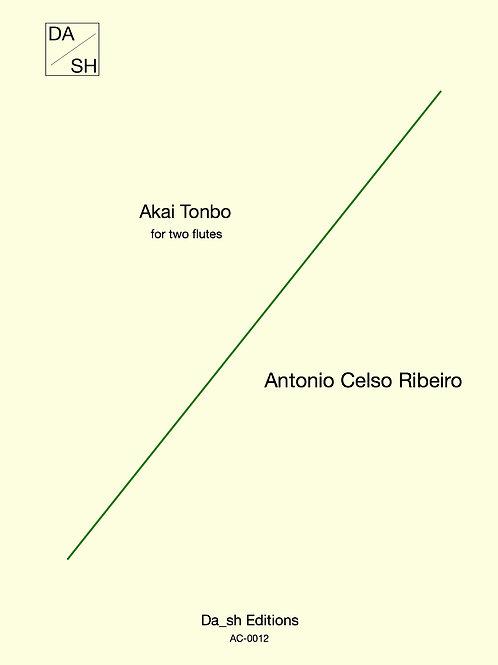Antonio Celso Ribeiro - Akai Tonbo for two flutes