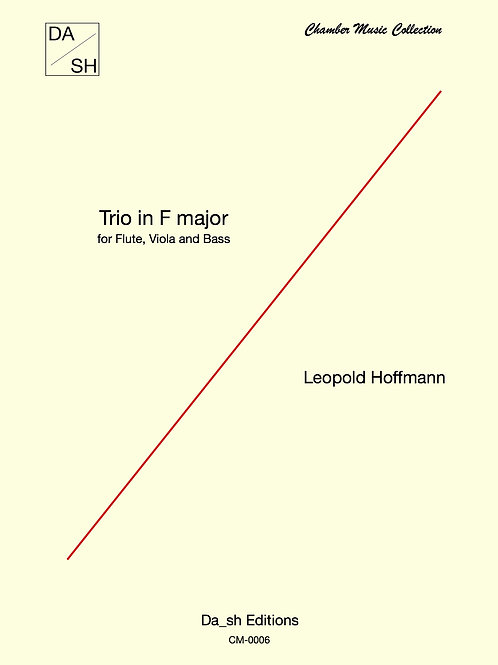 Leopold Hoffmann - Trio in F Major for Flute, Viola and Double Bass