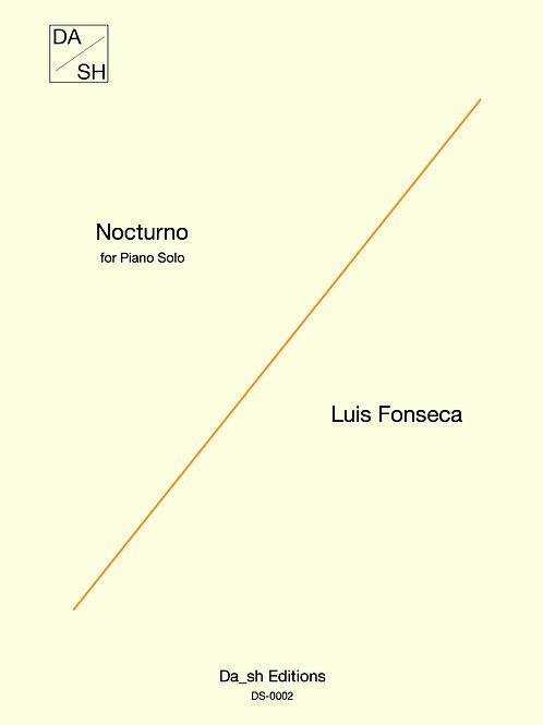 Luis Fonseca - Nocturno for Piano solo