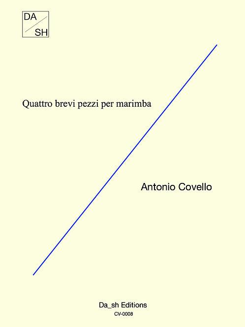 Antonio Covello - Quattro brevi pezzi per marimba - PDF