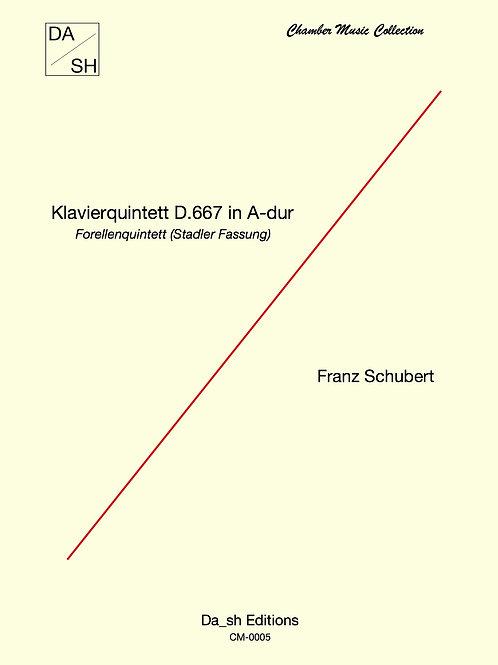 Franz Schubert - Klavierquintett D.667 in A-dur (Stadler Fassung)