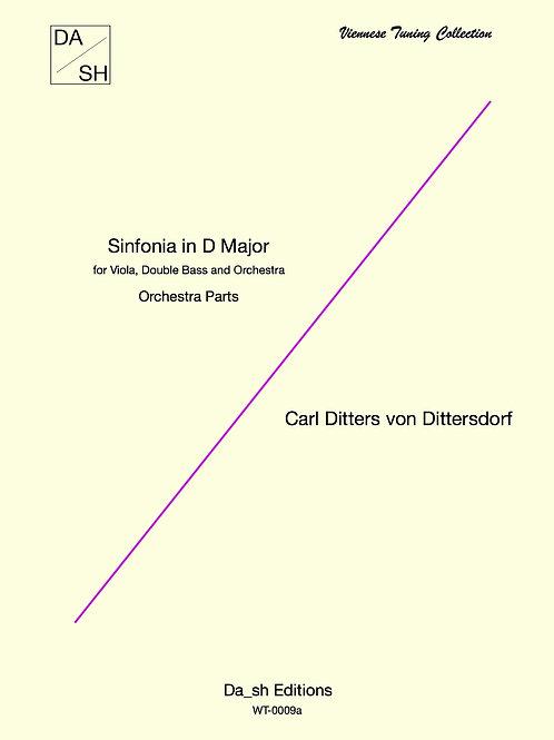 C.D. von Dittersdorf - Sinfonia in D Major - Orchestra parts