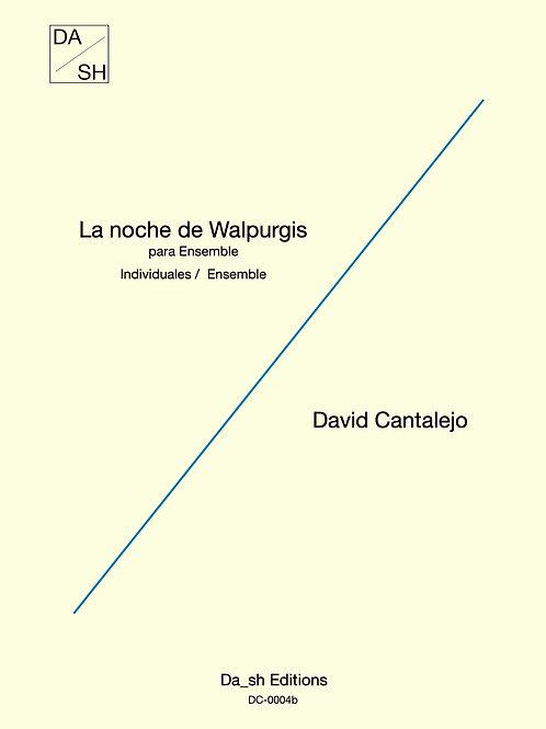 David Cantalejo - La noche de Walpurgis para Ensemble - Individuals set