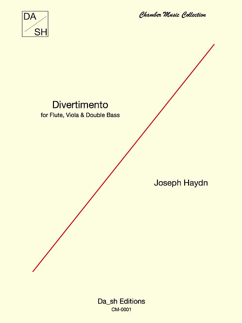 Joseph Haydn - Divertimento for Flute, Viola & Double Bass