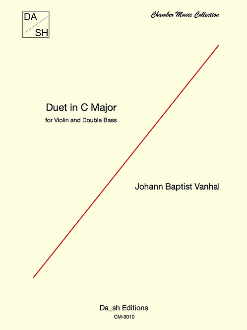 Johann Baptist Vanhal - Duet in C Major for Violin and Double Bass