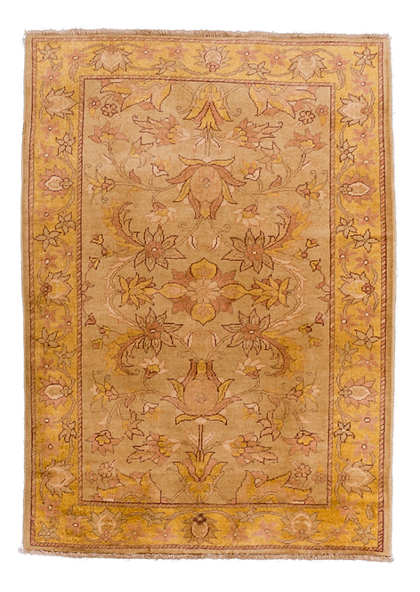 Tribal Red and Gold Rug