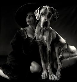 Mel Gorham and Isabella