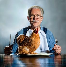 Carl Hunter aka The Chicken Man