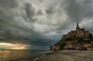 mont san michel - normandy