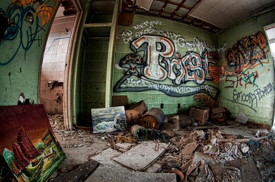 gallery of broken dreams