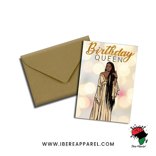 SARA |  Birthday Queen |  Greeting Card