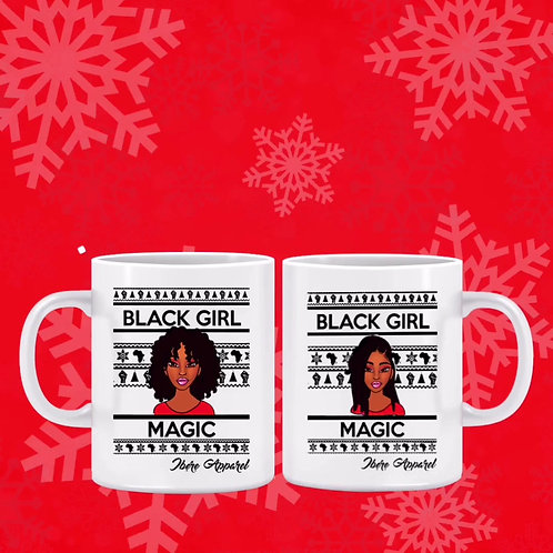 BLACK GIRL MAGIC- Printed Ceramic Mug