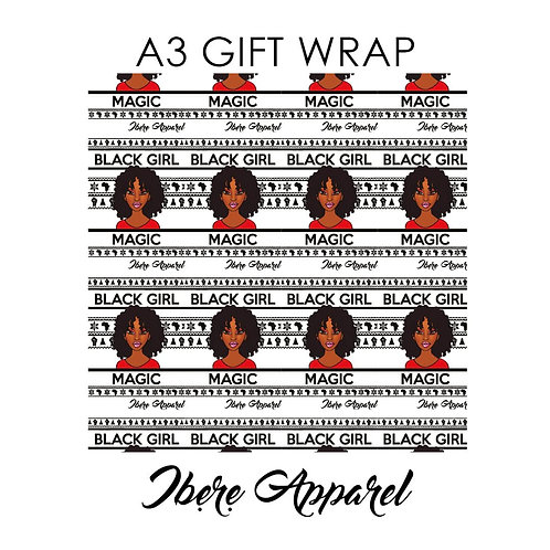 Black Girl Magic | Gift Wrap