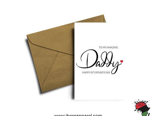 To My Amazing Daddy