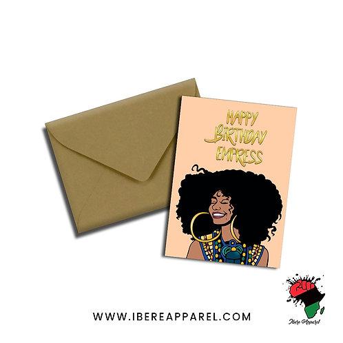 Mofoluwakemi | Happy Birthday Empress  | Greeting Card