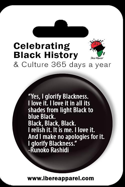 I Glorify Blackness