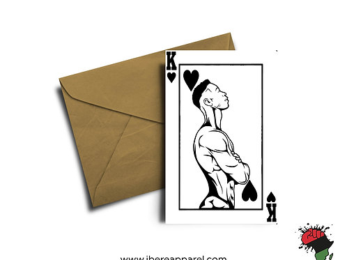 KING  |  Greeting Card