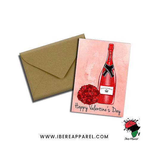 Valentine's Celebration Card
