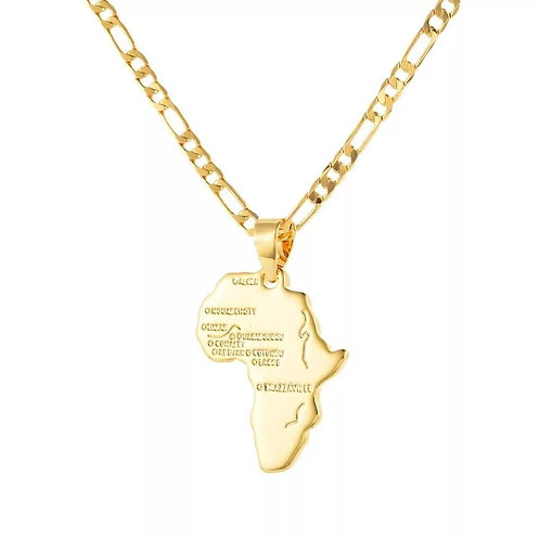 African Pendant Chain