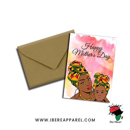 MARIE & FATIMA |  HAPPY MOTHER'S DAY |  Greeting Card