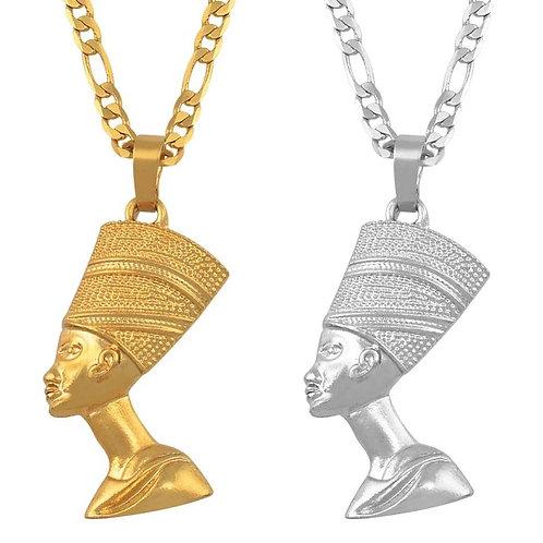 Nefertiti Pendant Necklace