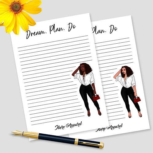 Dream. Plan. Do | A5 NOTEPAD