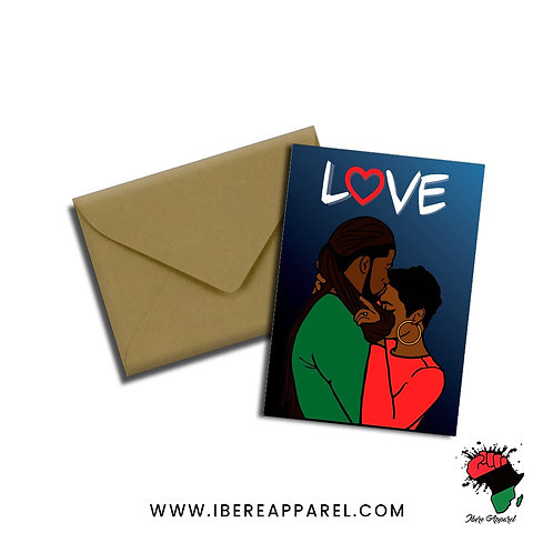 Black Love | Valentines - Greeting Card