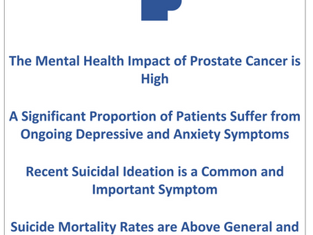 Mental health and Prostate cancer