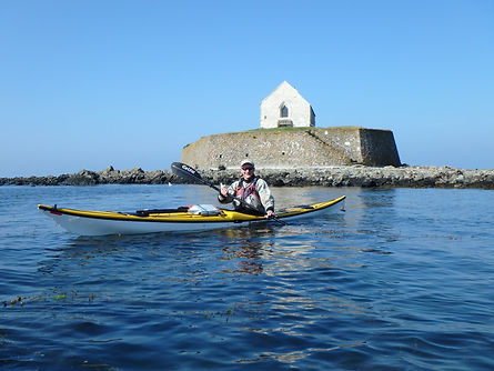 Exploring local history by kayak