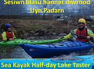 Half day lake introduction to sea kayaki