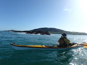 Kayaking Bardsey Island