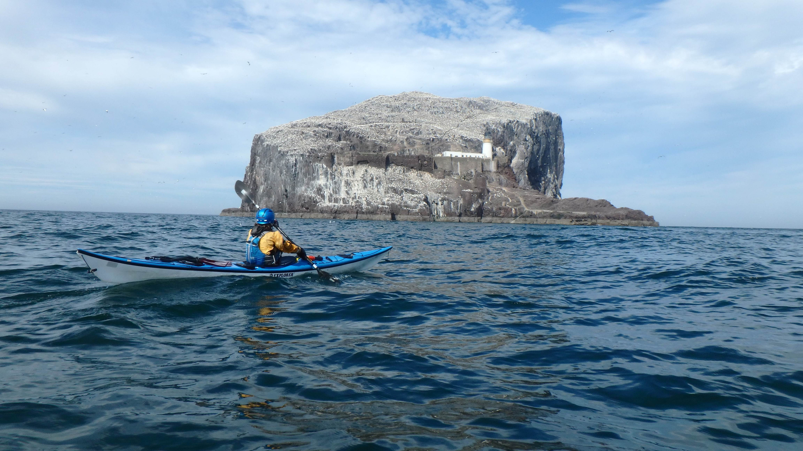 Getting closer to Bass Rock