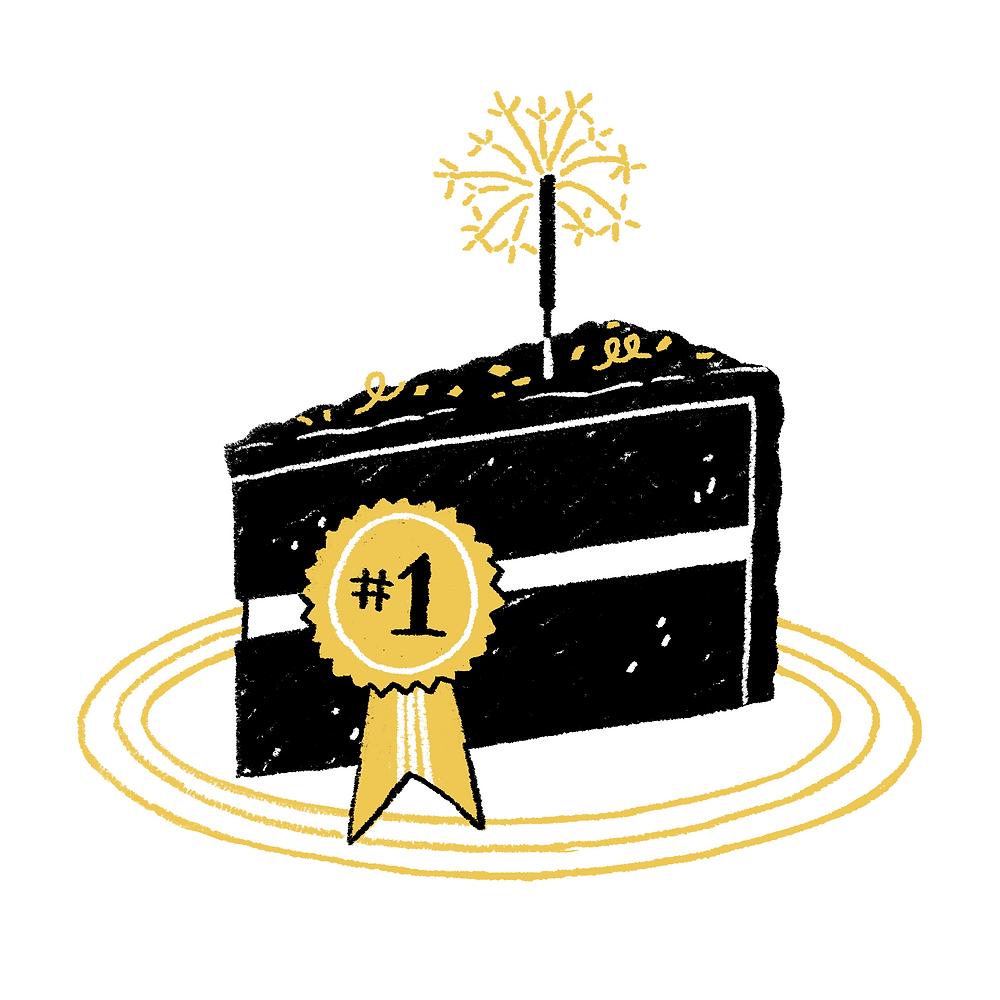 Label 428 Best (cake) I Ever Had