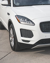 Gloss Hexis Bodyfence Xpel Ultimate Plus clear bra paint protection film on a Jaguar F-Pace SUV