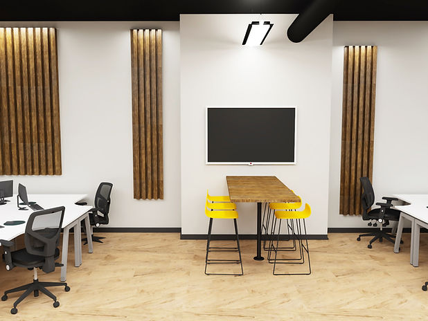 Commercial Office Design 3D Visual