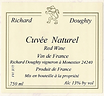 Chateau Richard VdF Natural Front Label
