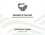 Corda Nuragus Front Label NV.png