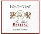 Font du vent La Mado Rasteau Front label