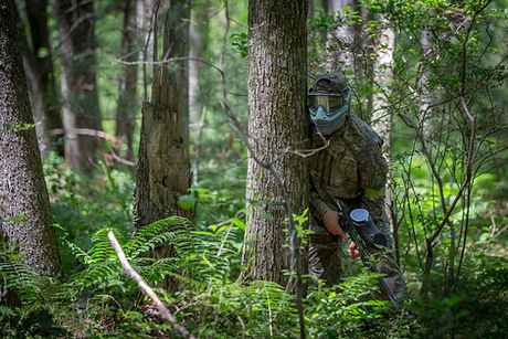 Featuring over 60 acres of outdoor paintball adventures!
